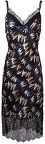 Diane von Furstenberg printed dress - women - Silk/Nylon/Polyester - 2