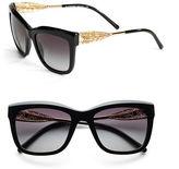 Burberry Garbardine Lace 56mm Square Sunglasses