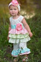 Haute Baby Blossom Tunic Set