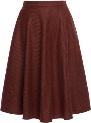 Lena Hoschek Kingsman A-Line Midi Skirt