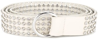 B-Low the Belt Narrow Studded Belt