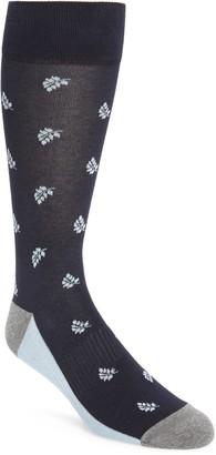Nordstrom Leaf Pattern Socks