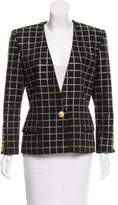 Balmain Embellished Long Sleeve Blazer