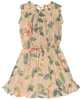 Zimmermann Kids Kirra floral cotton dress