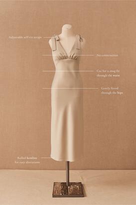 BHLDN Hudson Satin Charmeuse Dress