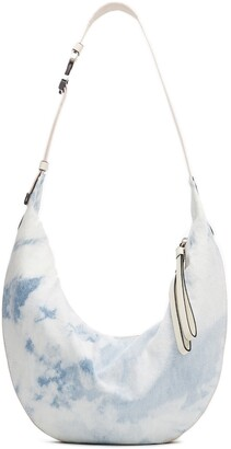 Rag & Bone Riser Acid Wash Denim Hobo