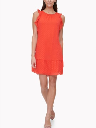 Tommy Hilfiger Essential Sleeveless Polka Dot Dress