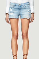 Frame Raw Edge Denim Shorts