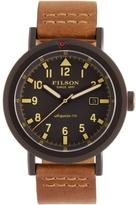 Filson Men's Scout Gray Dial Watch, 50mm