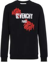 Givenchy Rose Logo Sweatshirt