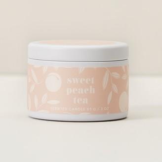 Indigo Scents MINI TIN CANDLE SWEET PEACH TEA