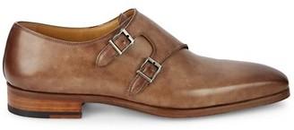 Magnanni Ezra Taupe Leather Oxfords