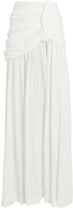Just BEE Queen Bianca High Slit Maxi Skirt
