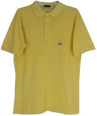 Christian Dior Yellow Cotton Polo shirts