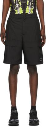 Valentino Black VLTN Tag Bermuda Shorts