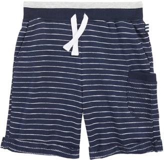 Splendid Stripe French Terry Shorts (Toddler Boys & Little Boys)