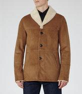 Reiss Tyson Shearling Coat