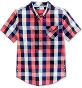 Lrg Men's Illumination Cotton Plaid Shirt