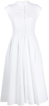 Alexander McQueen Cap Sleeve Shirt Dress