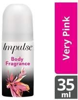 Impulse Very Pink Body Spray 35ml