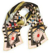 Givenchy Women's Egyptian Wings Skinny Scarf