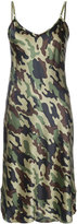 Nili Lotan camouflage cami dress - women - Silk - M