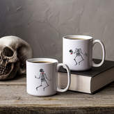 Cathy's Concepts CATHYS CONCEPTS Dancing Skeletons Large 20-Oz. Coffee Mug Set