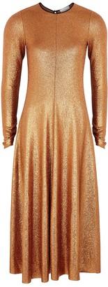 Forte Forte Copper Stretch-jersey Midi Dress