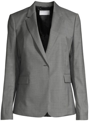 BOSS Jeniver1 Natural Stretch Wool Optic Suiting Jacket