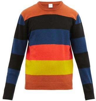 Paul Smith Striped Wool Sweater - Orange Multi