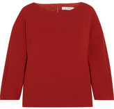 Max Mara Stretch-wool Top - Red