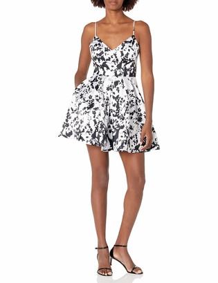Jump Junior's V Neck Pleated Party Dress