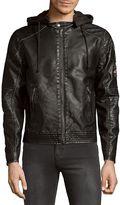 Buffalo David Bitton Men's Jawashin Full-Zip Jacket - Dark Grey, Size x-large