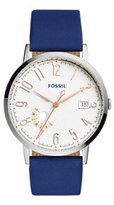 Fossil Women's ES3989 Vintage Muse Indigo-Dyed Leather Watch