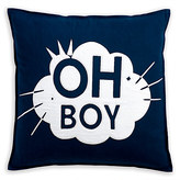 Disney Mickey Mouse Oh Boy Pillow by Ethan Allen