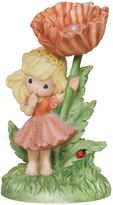 Precious Moments You Are My Joy Girl with Poppy Flower Figurine