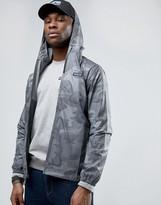 Patagonia Zipthru Hooded Jacket Camo Print Nylon Light & Variable