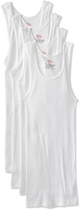 Hanes Men's 4-Pack FreshIQ Tanks