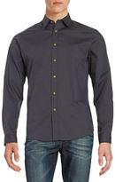 Black Brown 1826 Solid Sportshirt