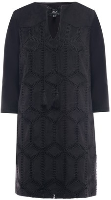 Nissa Mini Dress With Embroidered Details