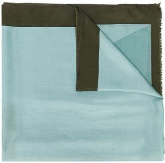 Altea Two-Tone Silk Scarf