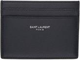 Saint Laurent Navy Classic Card Holder