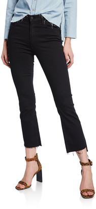 Mother Insider Crop Step Fray Jeans, Not Guilty
