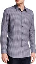 Theory Men's Irving Visby Check Dress Shirt