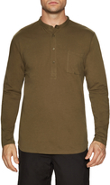 Shades of Grey by Micah Cohen Men's Long Sleeve Henley