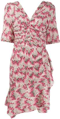 Isabel Marant Asymmetric Fitted Dress