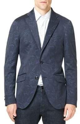 Etro Paisley Cotton Sportcoat