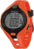 Soleus Men's SR018-801 Dash Large Digital Display Quartz Orange Watch