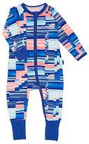 Bonds Baby Zip Wondersuit Digi Tribe Sleepsuit, Blue/Orange
