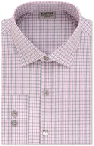 Kenneth Cole Reaction Technicole Men's Slim-Fit Stretch Flex Collar Check Dress Shirt